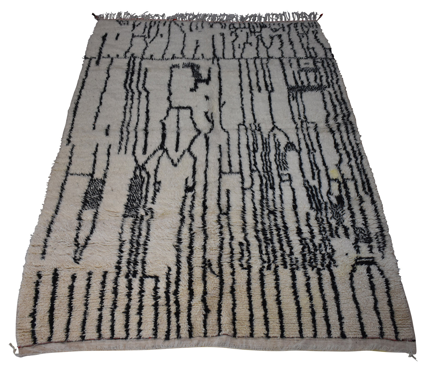 "New Moroccan Azilal Rug-Los Angeles-6'3""x9'7"""