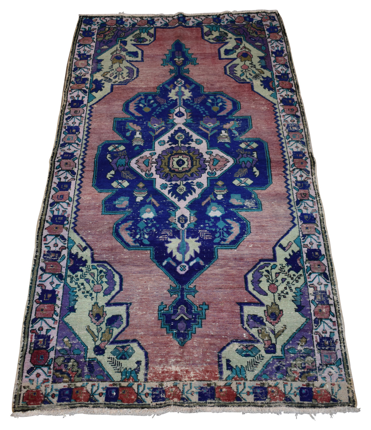 Vintage Turkish Anatolian Rug-Missouri-4'6''x8'4''