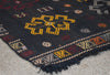 Vintage Turkish Kilim Rug-Cereus-3'3''x4'7''
