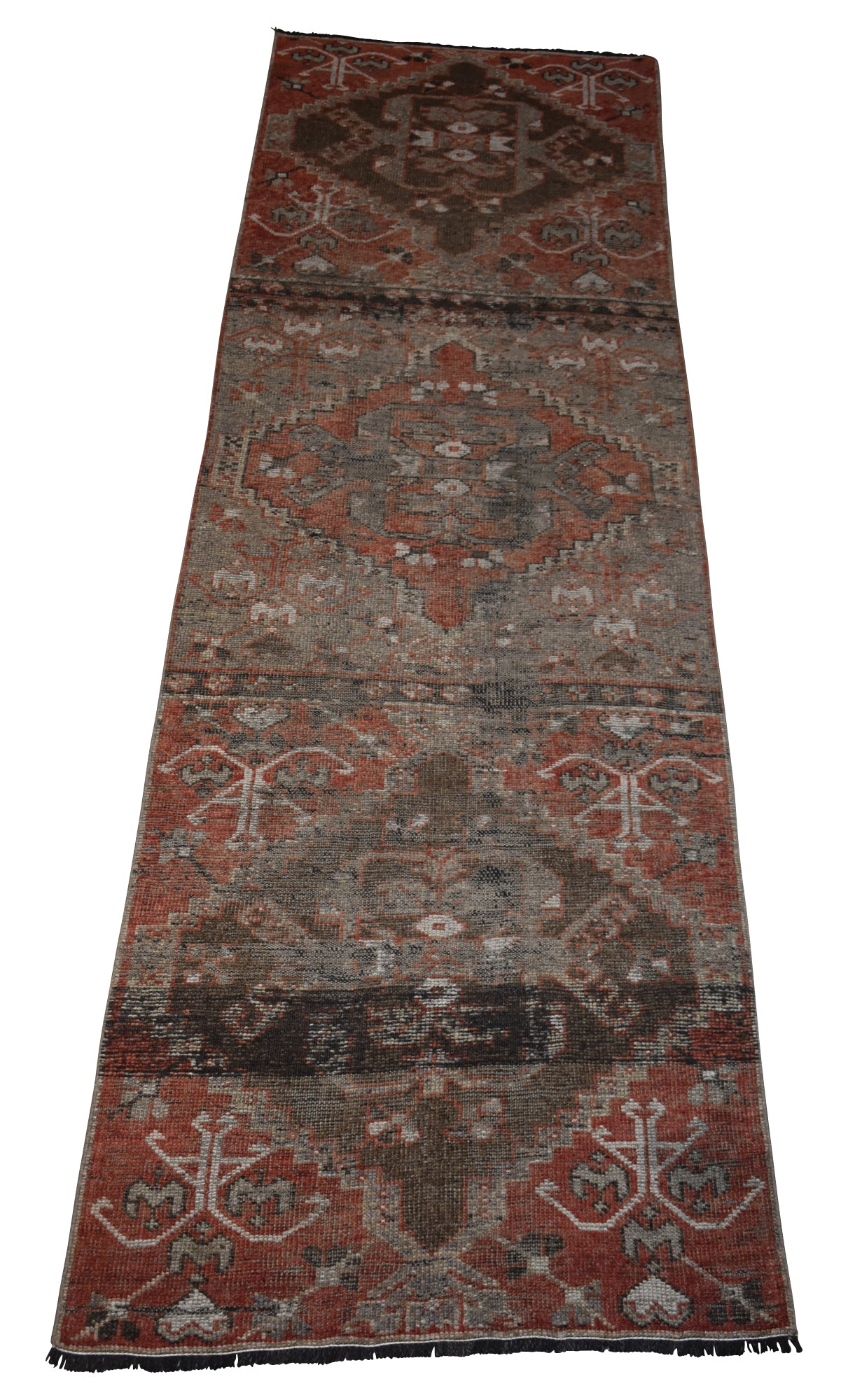 "Vintage Turkish Herki Runners-3'1""x10'2"""