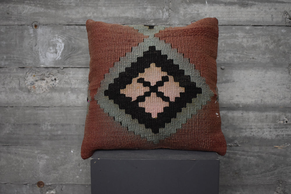 Turkish Kilim Pillow #69