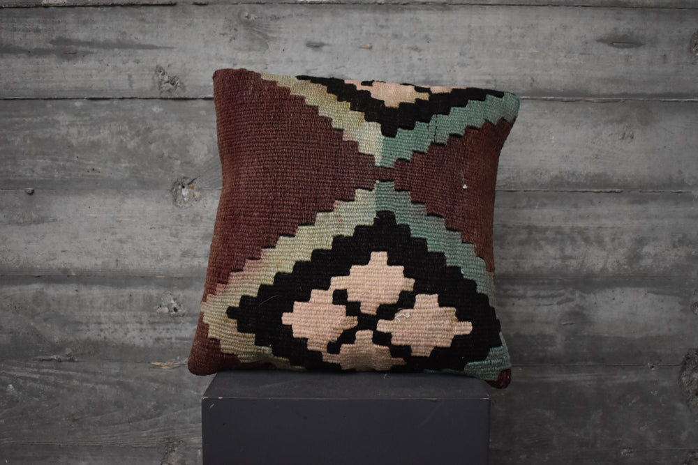 Turkish Kilim Pillow #32