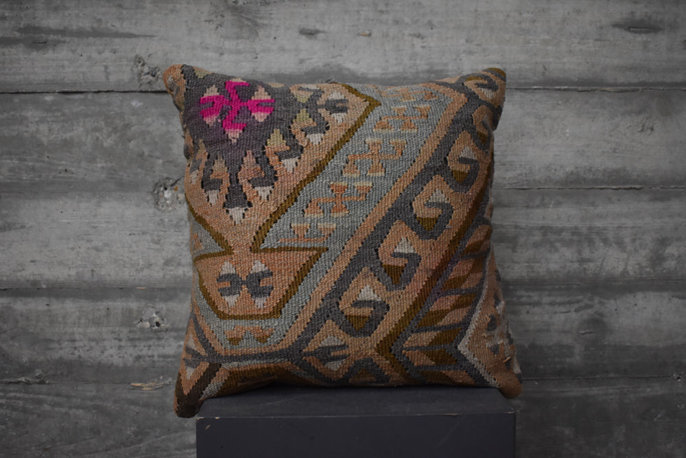Turkish Kilim Pillow #15
