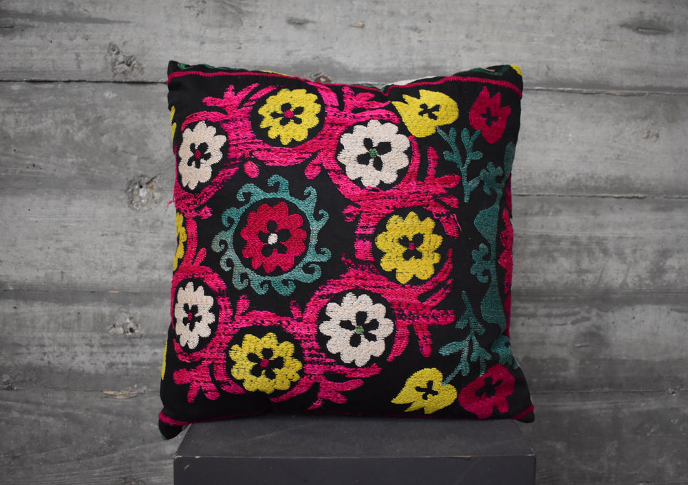 Turkish Suzani Pillow #8