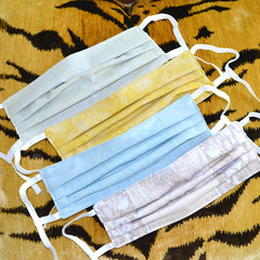 41 Winks 100% Cotton Fabric Face Masks Adjustable Straps