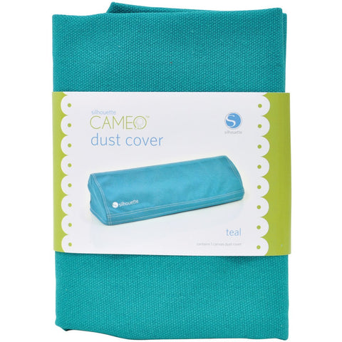Silhouette Cameo Canvas Dust Cover Teal / Protector Antipolvo Verde Azulado