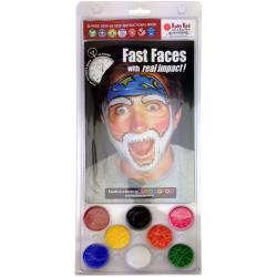Snazaroo Fast Faces Clam Pack / Kit de Maquillaje de Fantasía