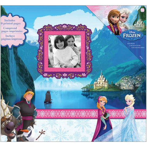 "Album para fotos Scrapbook / Disney Frozen Post Bound Album 12""X 12"" - Hobbees"