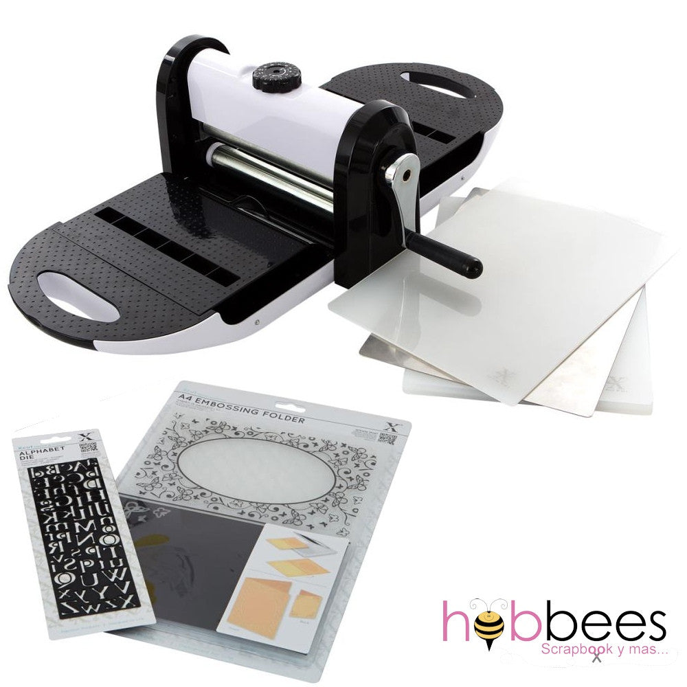 Máquina de corte y grabado Xcut Xpress con Suaje y Folder de Regalo / X Cut Die-cutting Machine Bundle - Hobbees - 1