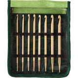 Bamboo Interchangeable Tunisian Crochet Hook Set / Set de 8 Ganchillos de Bamboo
