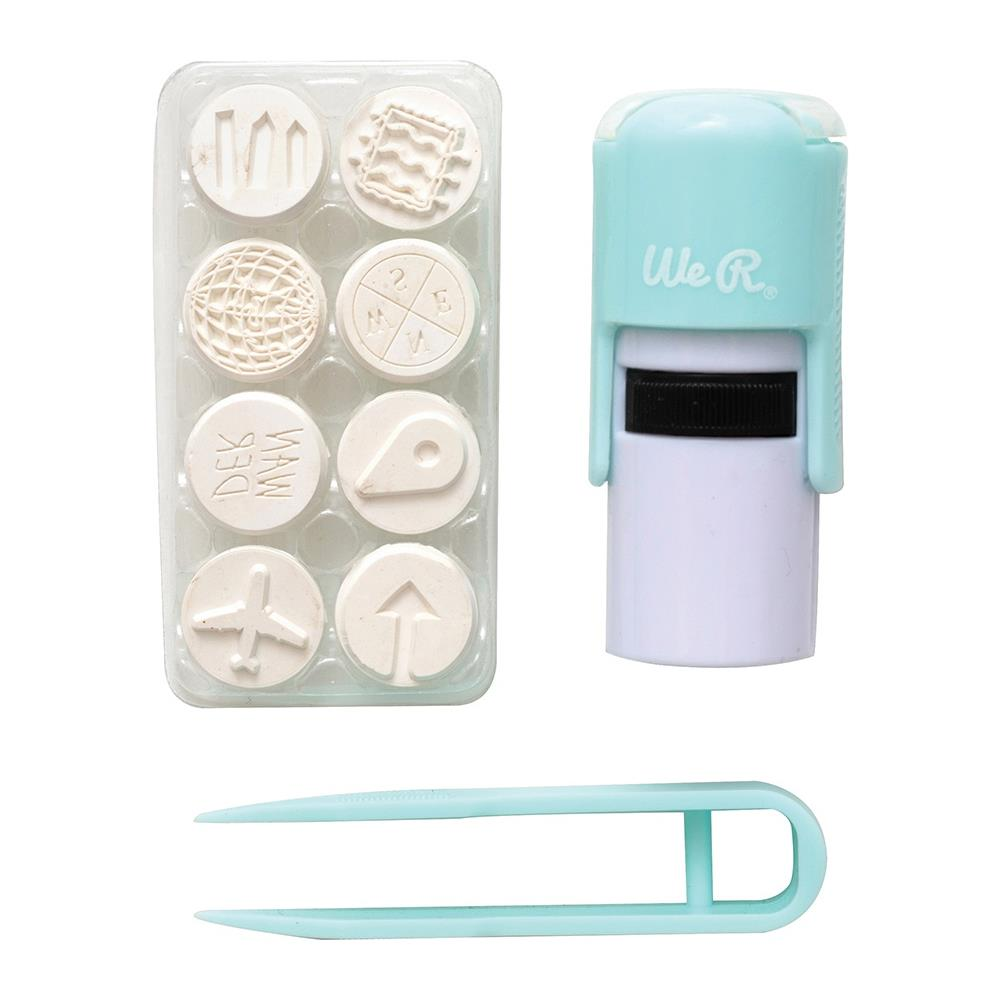 Journal Studio Interchangeable Stamp / Kit de Sellos para Planificador