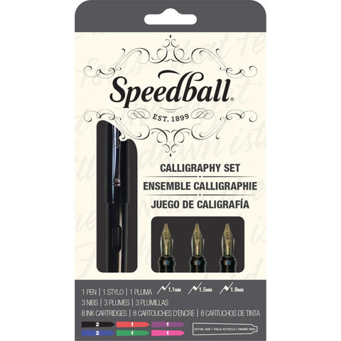 Speedball Calligraphy Fountain Pen Set / Set de Caligrafía