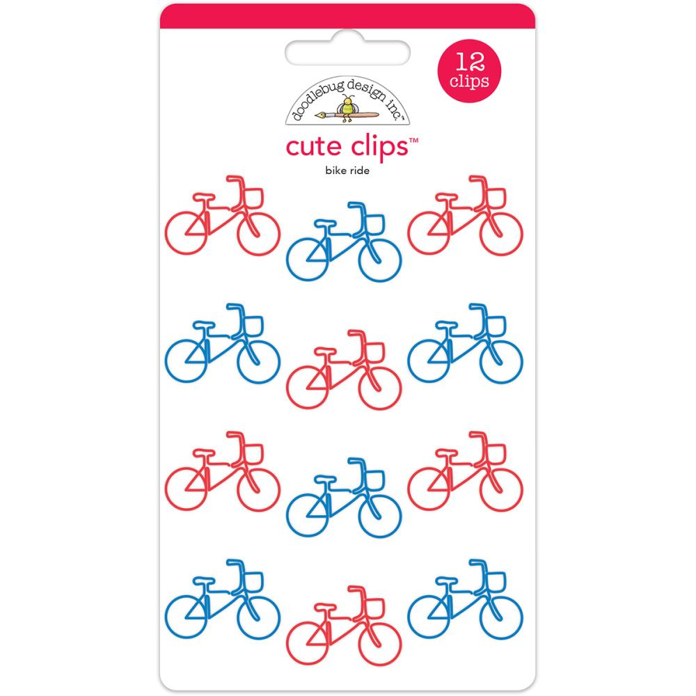 Bike Ride Cute Clips / Clips de Bicicletas