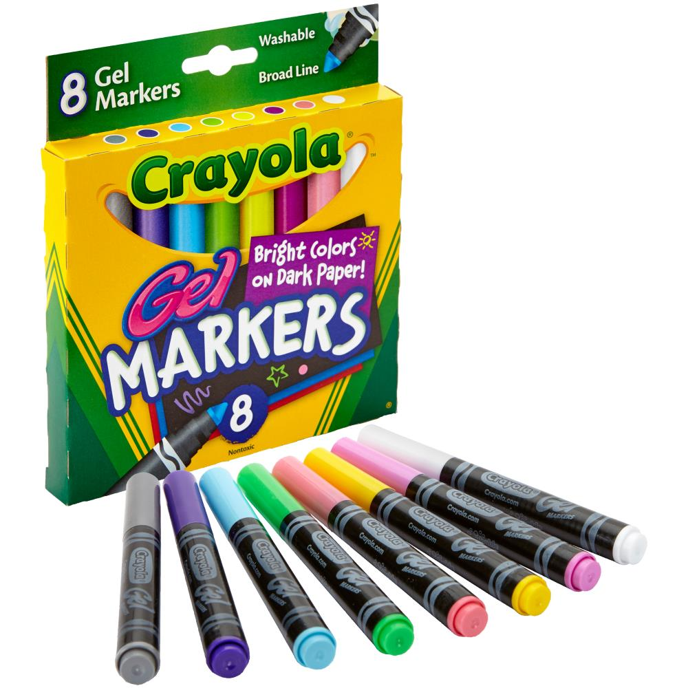 Gel Washable Markers / Marcadores de Gel Lavables - Hobbees