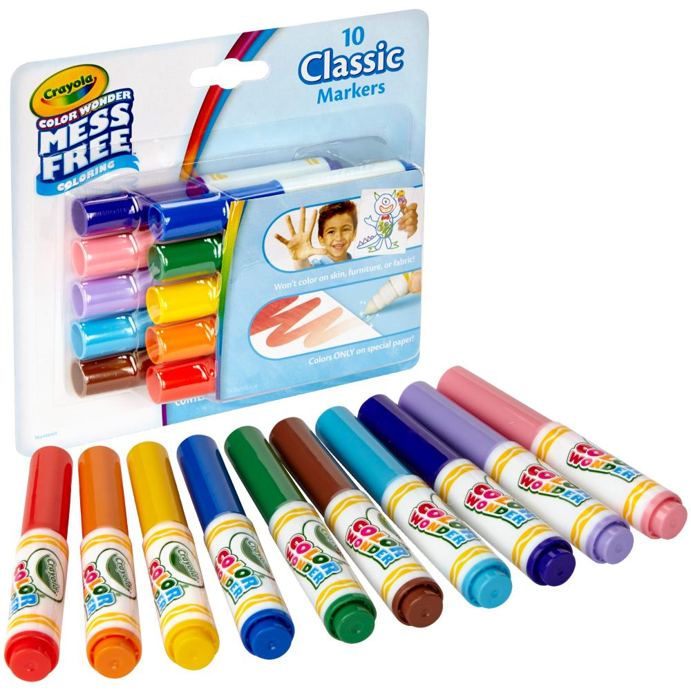 Color Wonder Mini Markers / 10 Marcadores Color Wonder