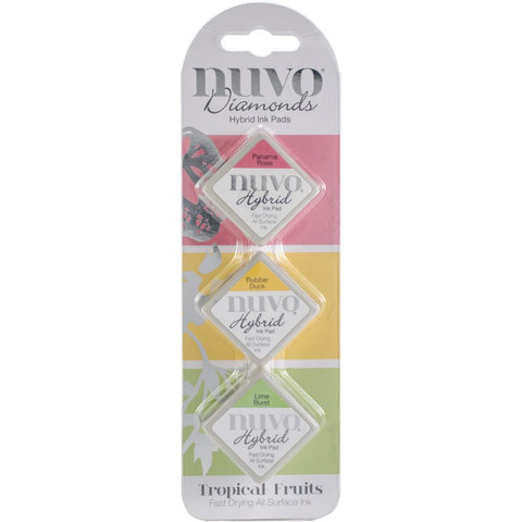 Diamond Hybrid Ink Pads Tropical Fruits / Set de Tintas para Sellos - Hobbees