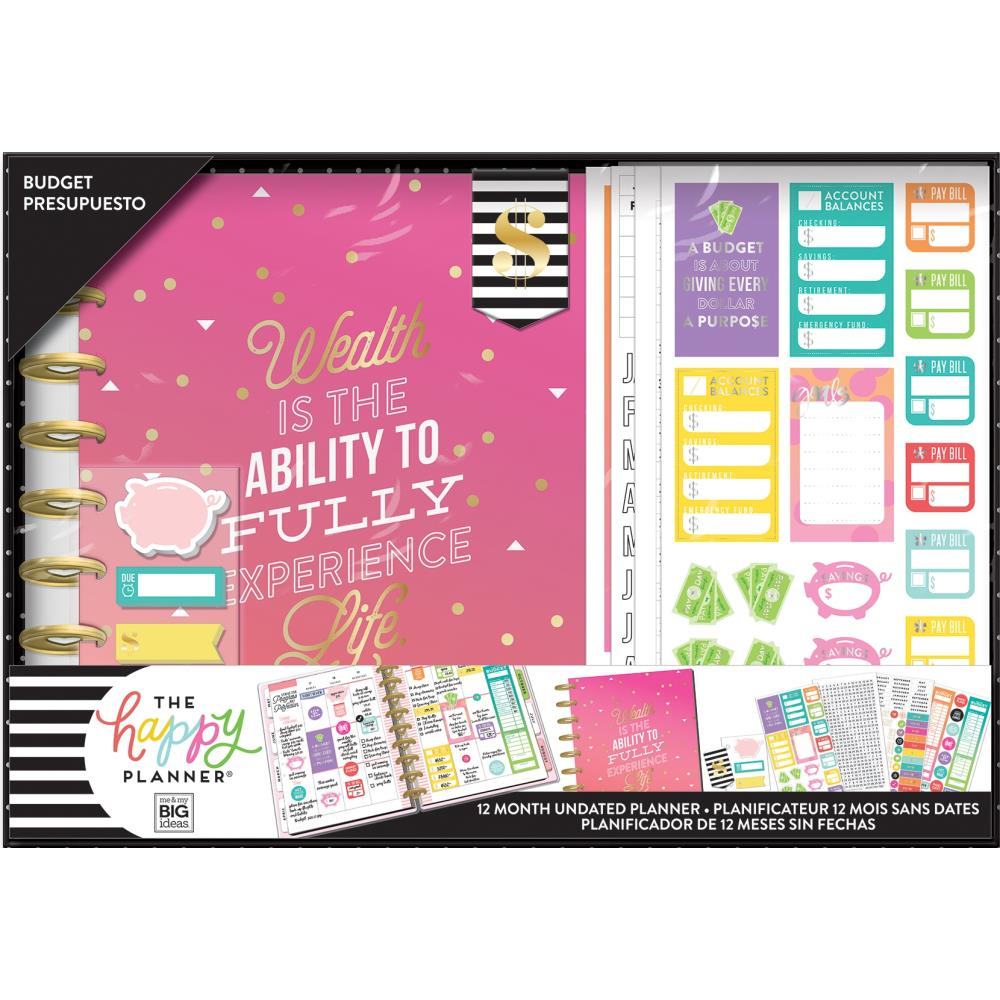 Happy Planner Kit Budget Wealth / Kit de Agenda Planificadora Presupuesto