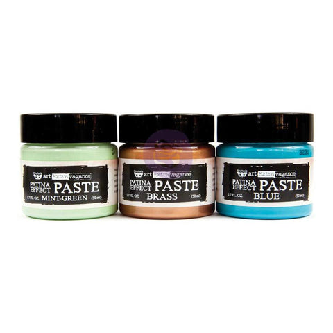 Art Extravagance Patina Effect Paste Set / Pasta para Efecto Patinado
