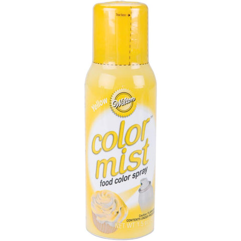 Color Mist Food Color Spray Yellow / Aerosol para Alimentos Amarillo