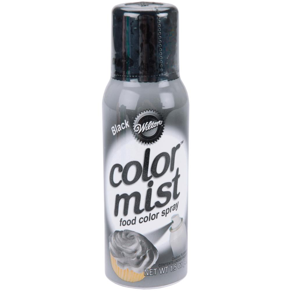 Color Mist Food Color Spray Black / Aerosol para Alimentos Negro