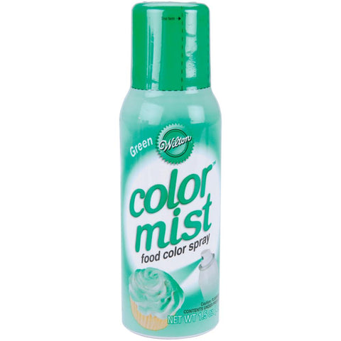 Color Mist Food Color Spray Green / Aerosol para Alimentos Verde