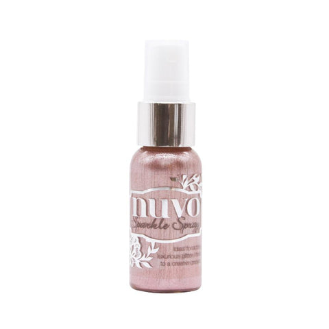 Blush Burst Sparkle Spray / Pintura Brillante Rosa en Atomizador