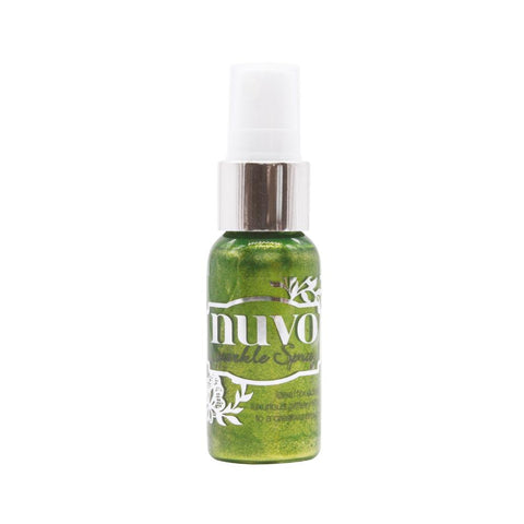 Apple Spritzer Sparkle Spray / Pintura Brillante Verde en Atomizador