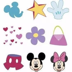 Mickey Rubber Stamps Mini Tub / Set de Sellos de Mickey - Hobbees - 1