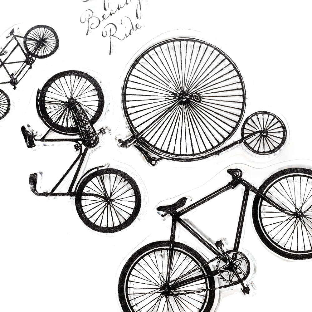 Bicycles Stamps / Sellos de Bicicletas