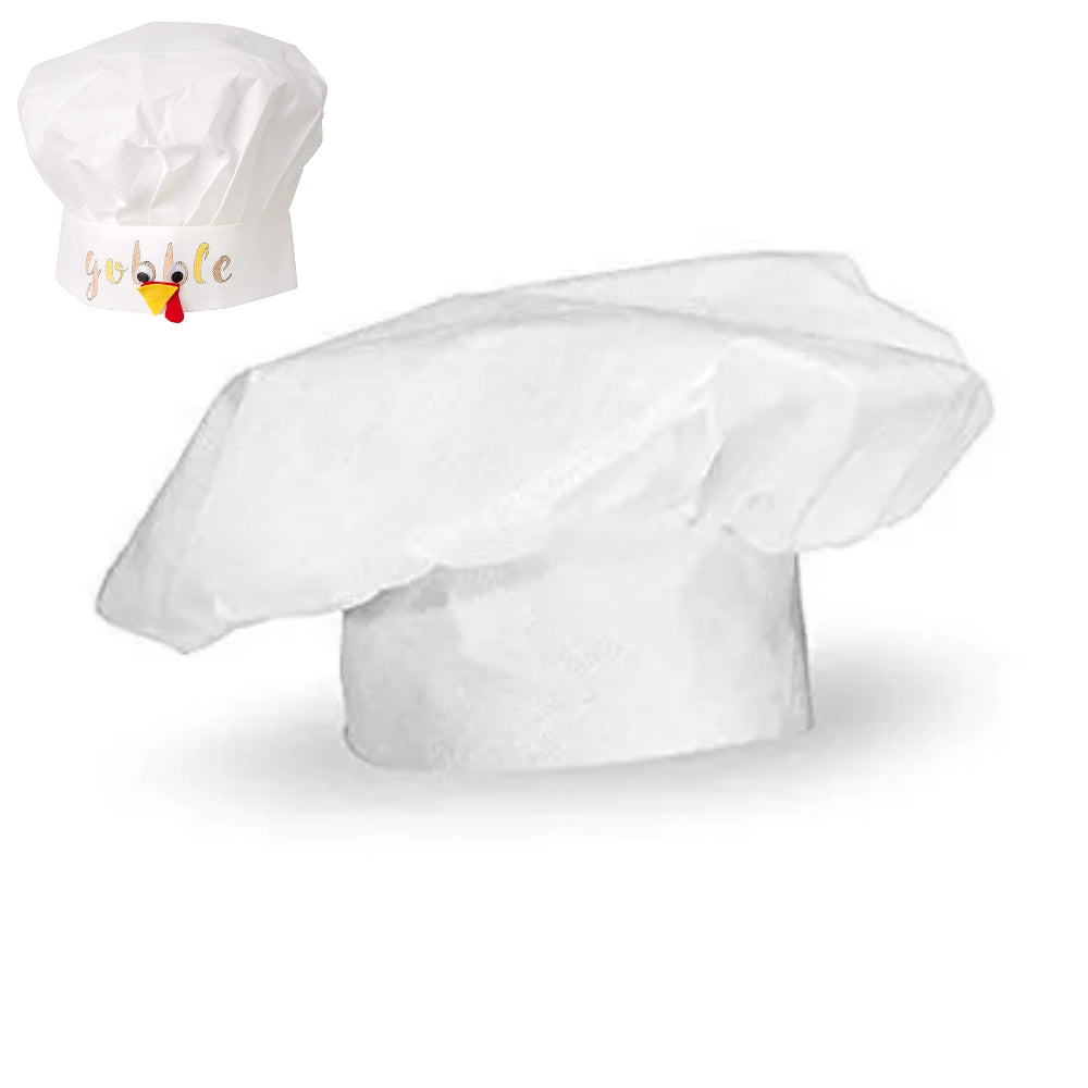 Nonwoven Kid Chef Hat / Gorro de Chef para Niños