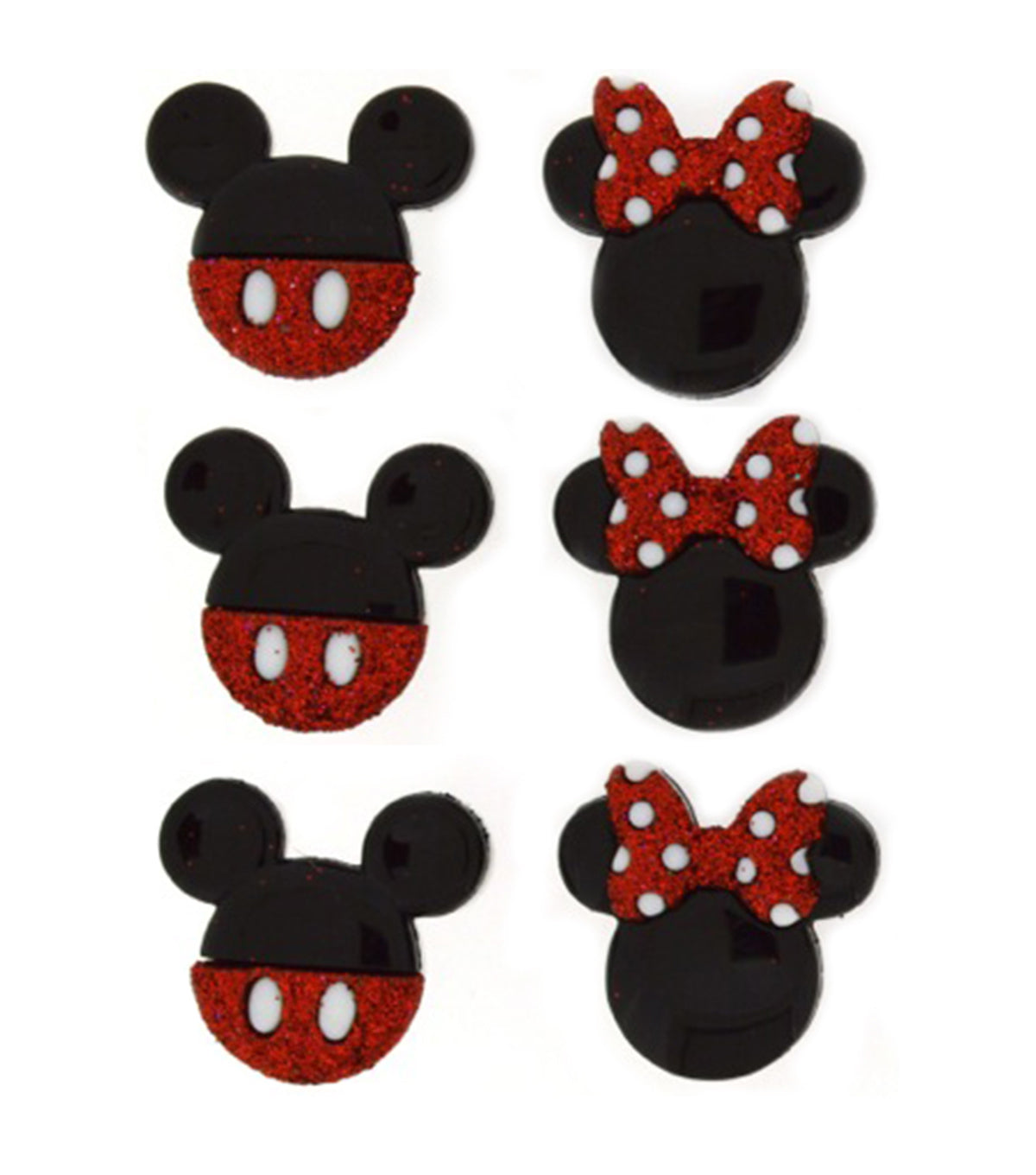 Dress It Up Disney Mickey & Minnie / Minniey y Mickey Adornos