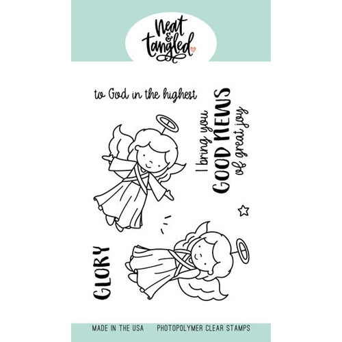 Clear Stamps Angel Wings / Sellos Alas de Angel