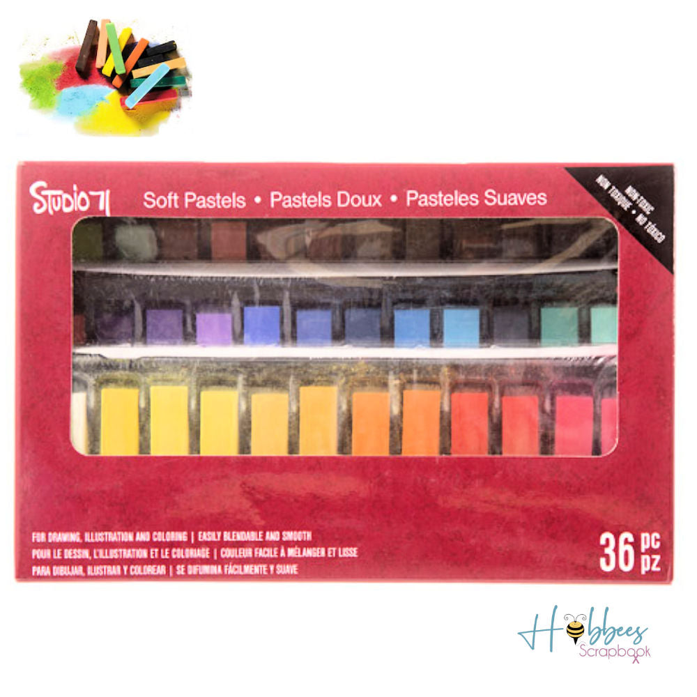 Studio 71 Soft Pastels / 36 Pasteles de Colores