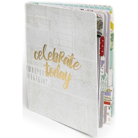 Celebrate Today Memory Notebook Memorandum / Cuaderno tipo Agenda - Hobbees - 1