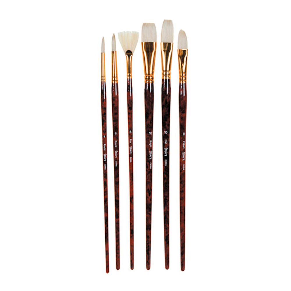 Studio 71 Bristle Brush Set / Set de Pinceles de Cerda Natural