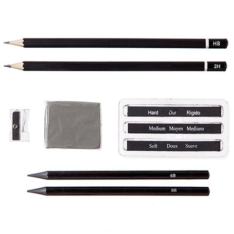 Studio 71 Graphite Set / Set de 9 Grafitos