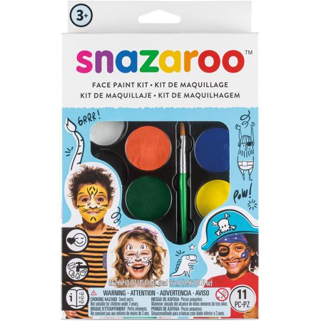 Snazaroo Face Painting Kit Boy Wild Faces / Pintura Facial Caras Salvajes