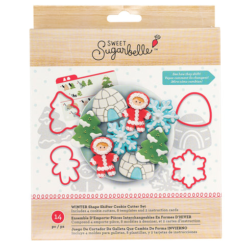 Cookie Cutter Christmas Set #2 / Set Navideño Cortadores Galletas