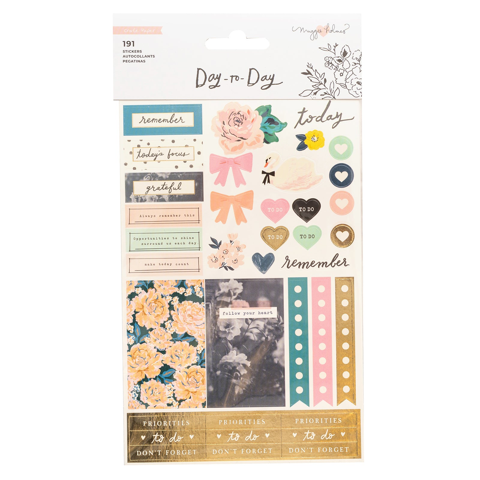 Day-To-Day Planner Sticker Book Icon / Estampas para Agendas