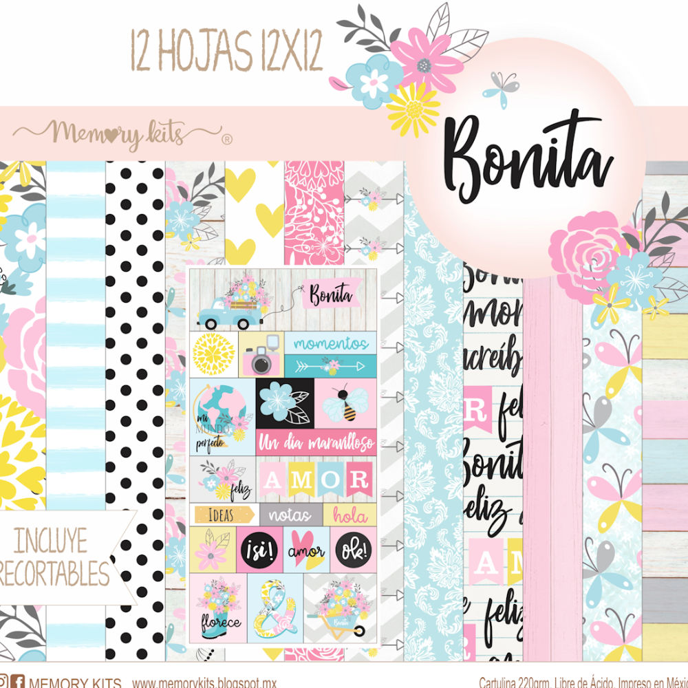 Kit de Papel Cartulina Bonita