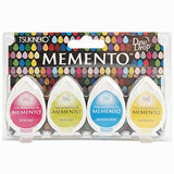 Memento Dew Drop Dye Ink Pads Beach Party / Set de 4 Tintas Colores de Playa