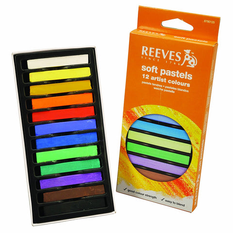 Soft Pastels Artist Colors / Set de Pasteles de Colores