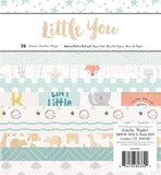 "Little You Boy Paper Pad / Block de Papel para Niño 6"" x 6"""