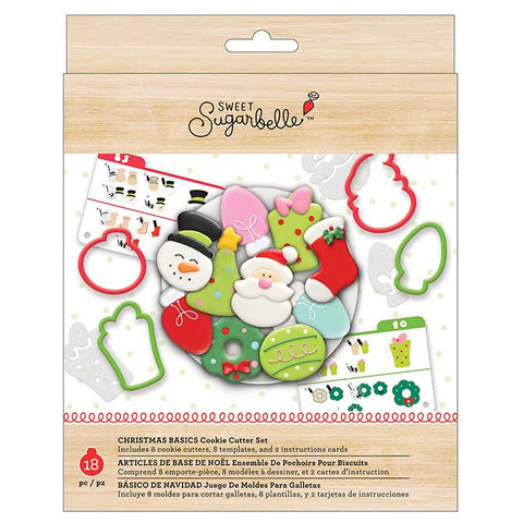 Cookie Cutter Christmas Set / Set Navideño Cortadores Galletas