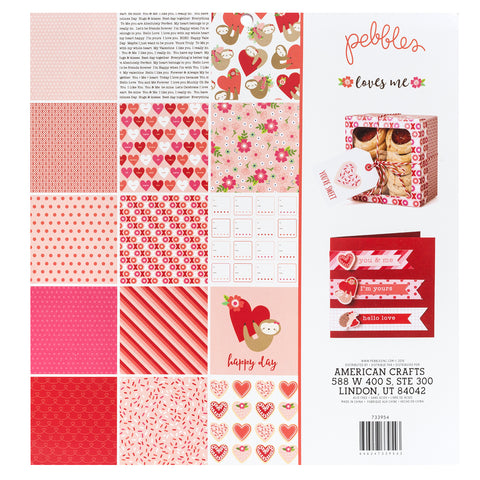 Paper Pad Loves Me / Block de Papel Amor