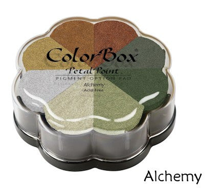 Cojines de tinta para sellos / Petal Point Alchemy Pigment Ink pad - Hobbees