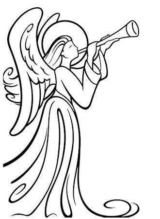 Embossing Folder Angel with Instrument / Folder de Grabado Angel Musical - Hobbees