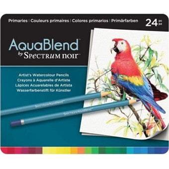 AquaBlend By Spectrum Noir Primaries 24 Set / Lápices de Colores Acuarelables