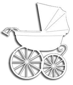 Baby Carriage Die / Suaje de Corte Carriola
