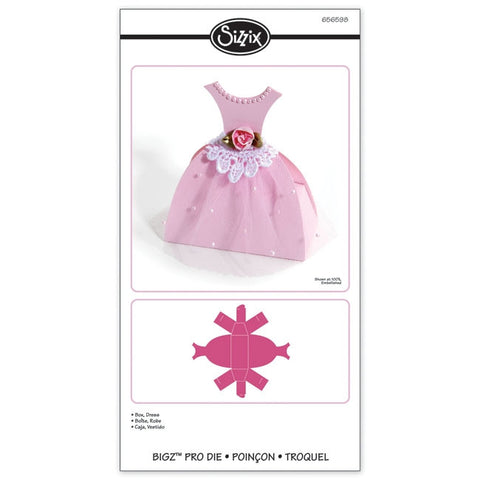Dress Box Pro Die / Suaje de Corte de Cajita Vestido - Hobbees - 1